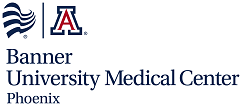 Banner - University Medical Center Phoenix & University of Arizona logo